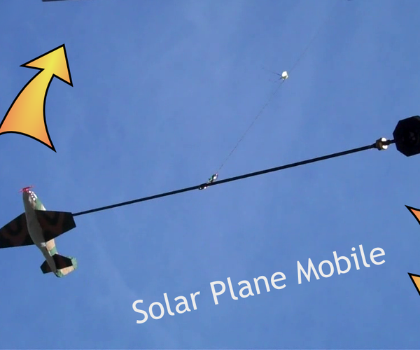 Solar Airplane Mobile