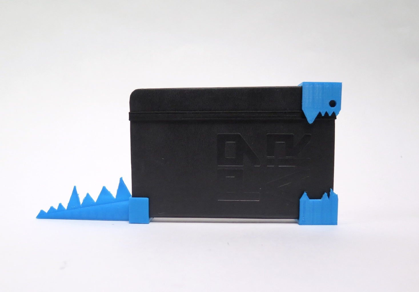 Turn Your Moleskin Into a Shark Dinosaur Monster With 3D Printed Parts
