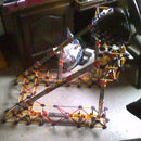 K'nex steering wheel mount