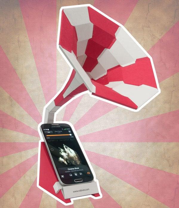 Passive Speaker for Your Smart-Phone