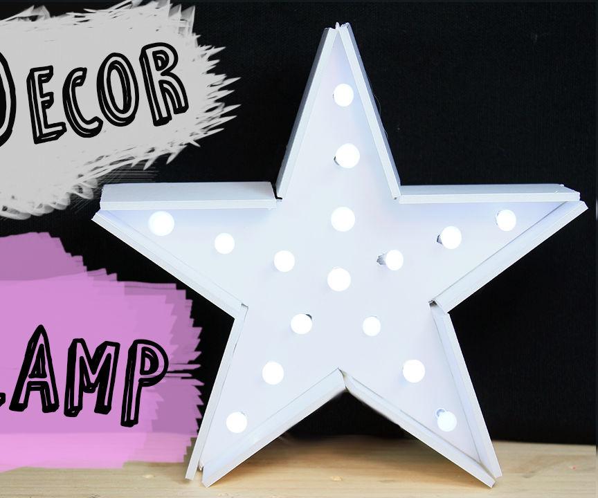 Star Lamp for Christmas