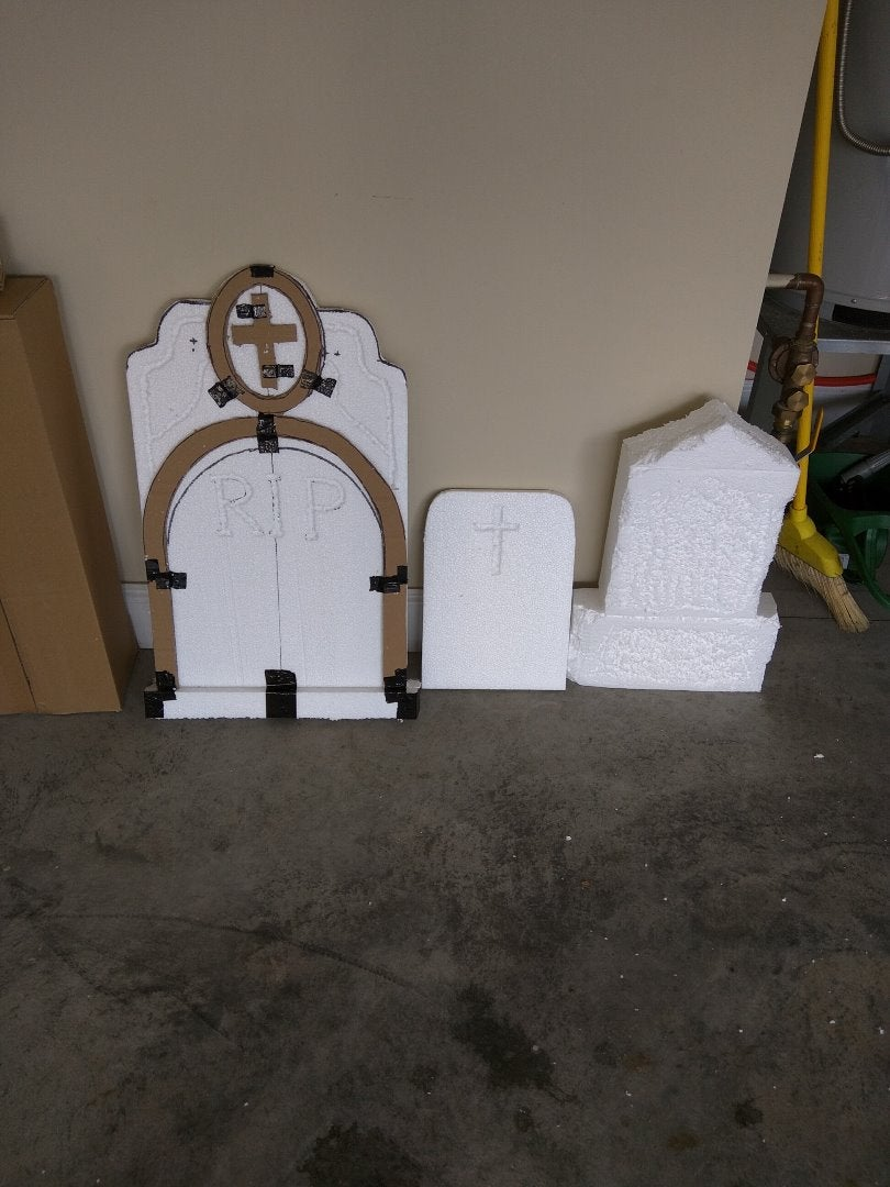 Basic Structure of Tombstones