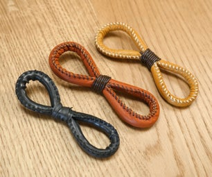 Leather 8 Hair Accessory
