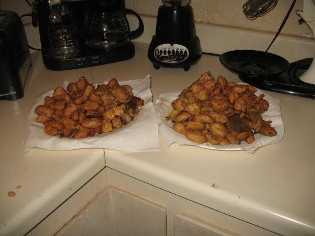 Deep Fried Food - Wok Fry style