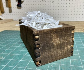 Box (Finger) Joint Jig Made With Recycled Plastic (#2 HDPE)