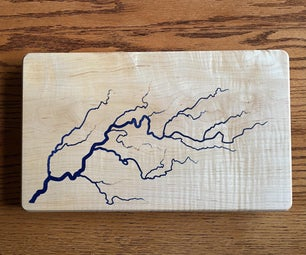 Lichtenberg Pattern on a CNC