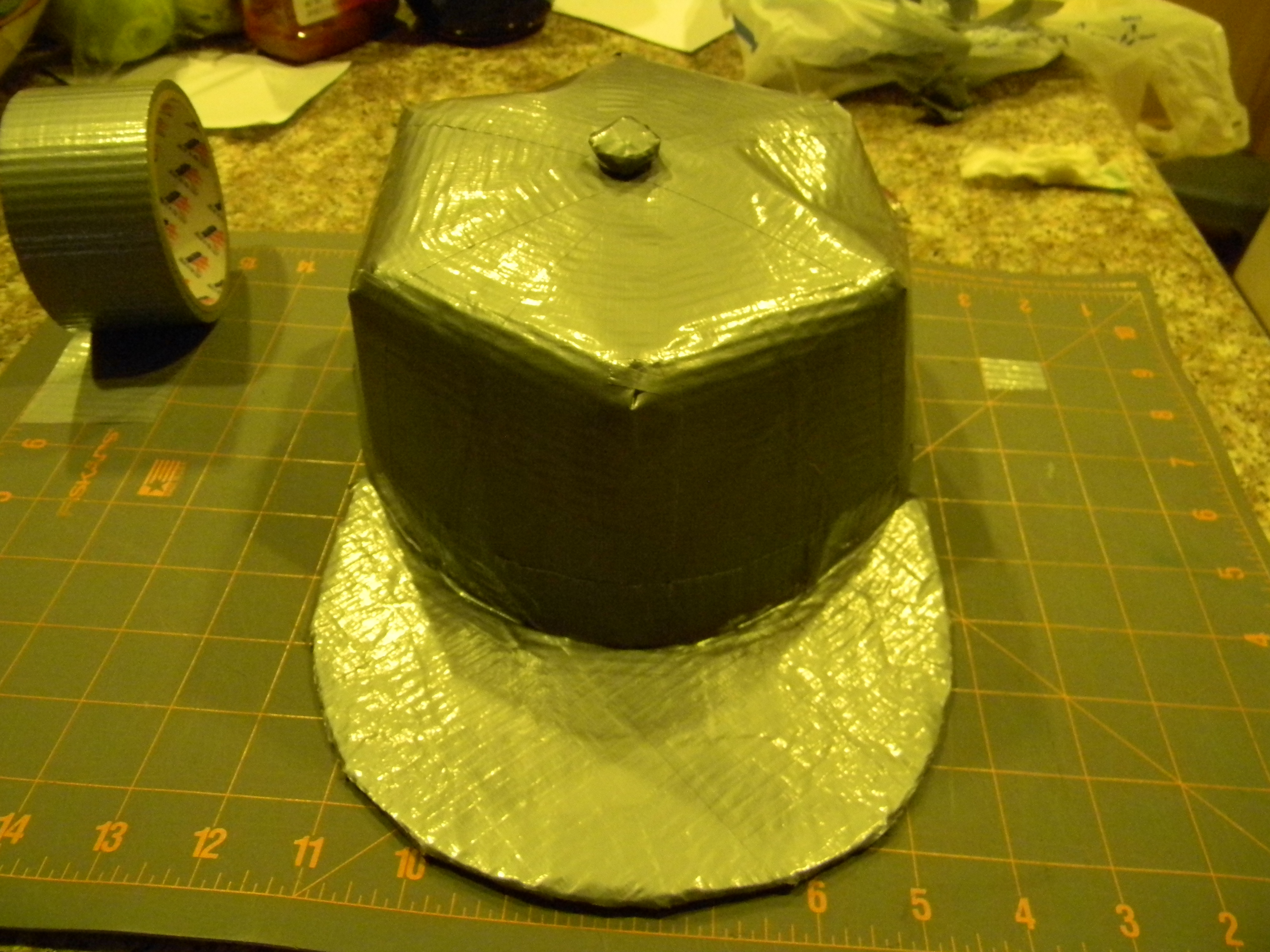 How to make a duct tape hat