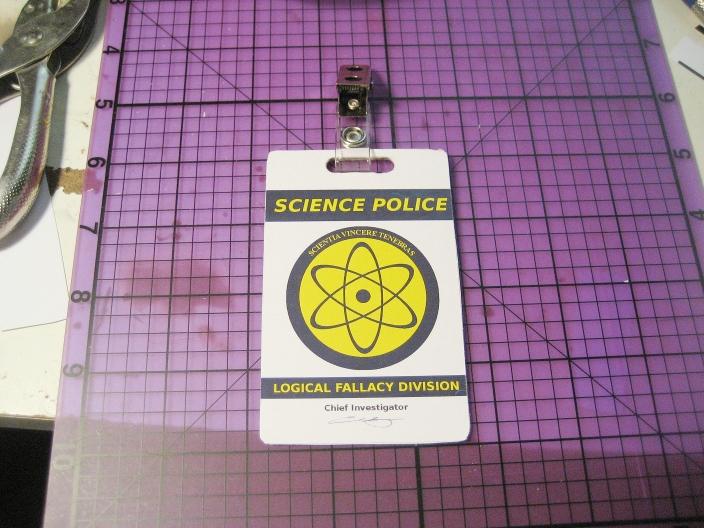 Custom ID Badge