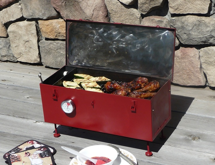 DIY- Portable Toolbox Grill- Improved!