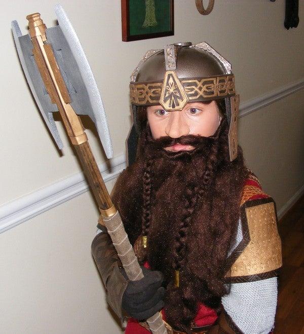 Gimli the Dwarf - Lord of the Rings Halloween Costume