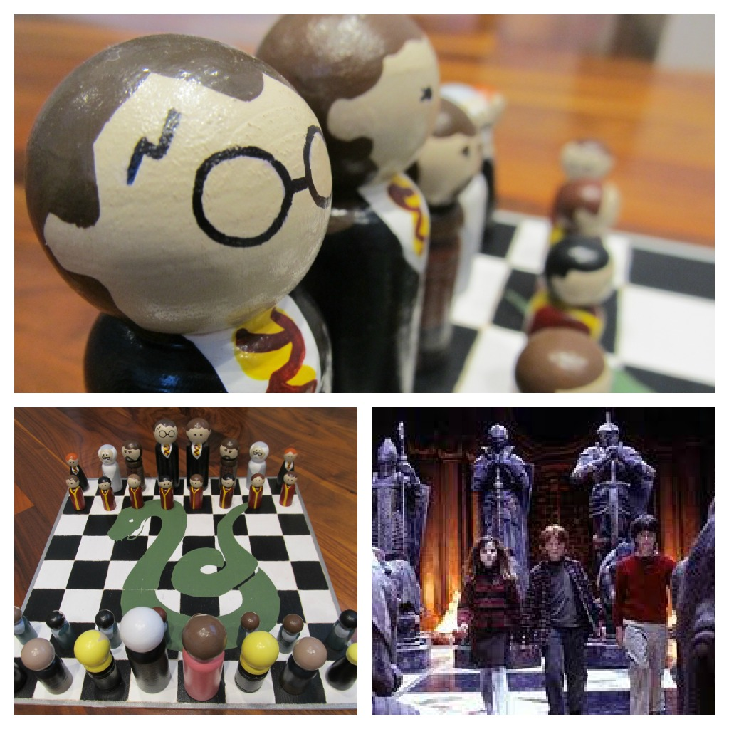 Harry Potter Chess Set & Case