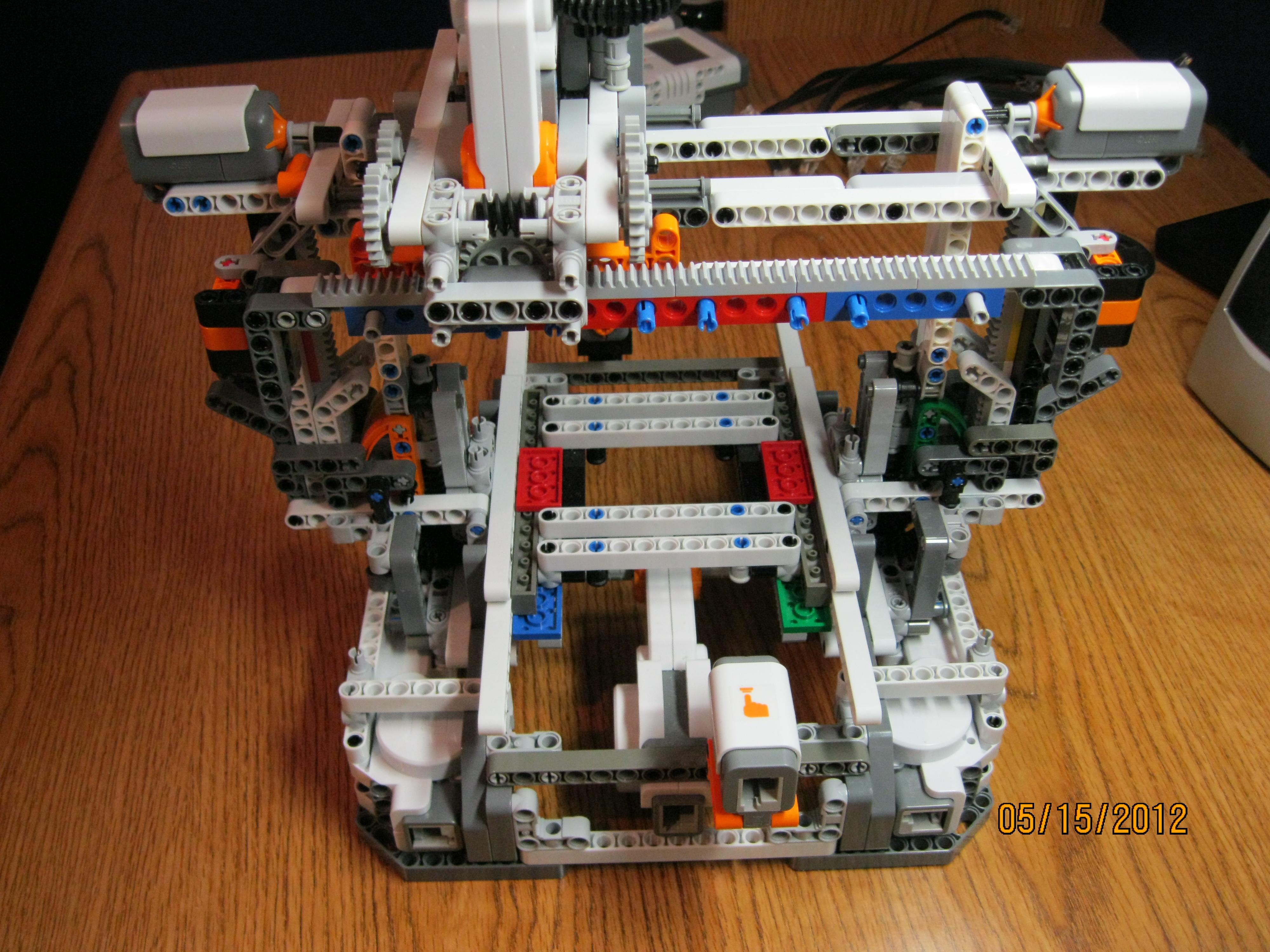 Lego CNC/3D printer/plotter