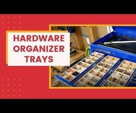 Hardware Organizer Trays