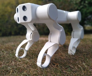GoodBoy - 3D Printed Arduino Robot Dog