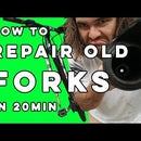 How to Repair Old MTB Forks (in 20 Mins)
