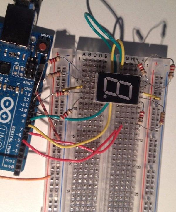 Arduino 7 Segment Display