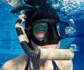 3D Printed Snorkel