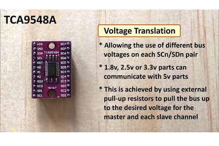TCA9548A I2C Multiplexer Module