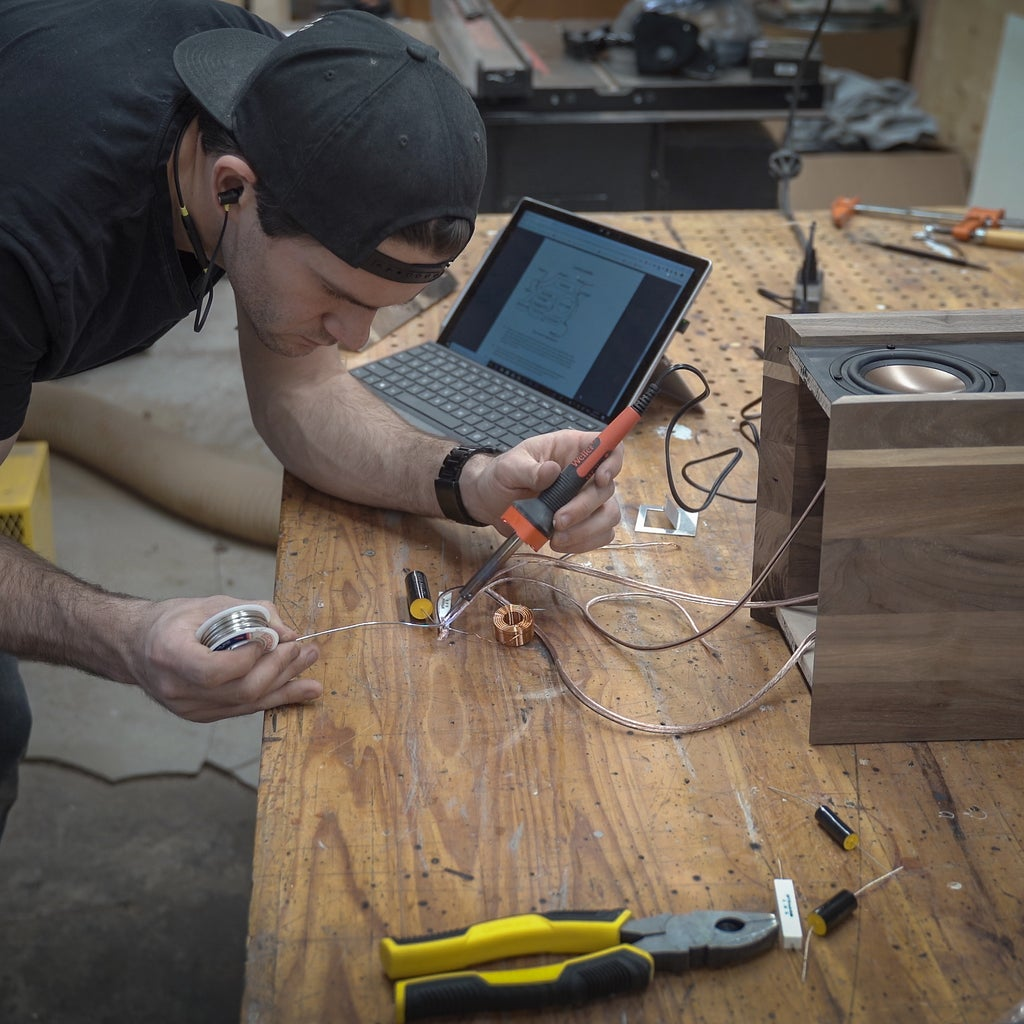 Wiring Up the Speakers
