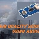 AIR QUALITY SENSING USING ARDUINO