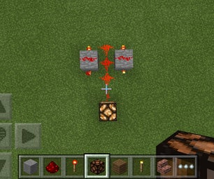 Rapid Fire Red Stone Lamp