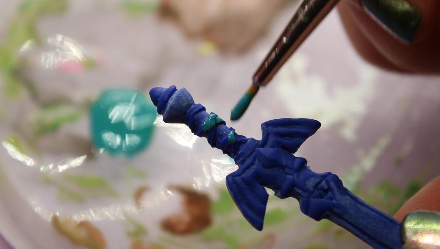 Master Sword: Paint