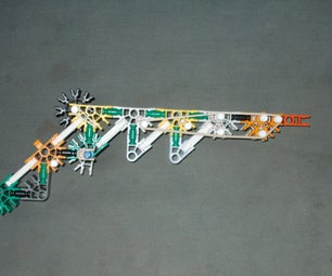 Knex RBG (rubber Band Gun)