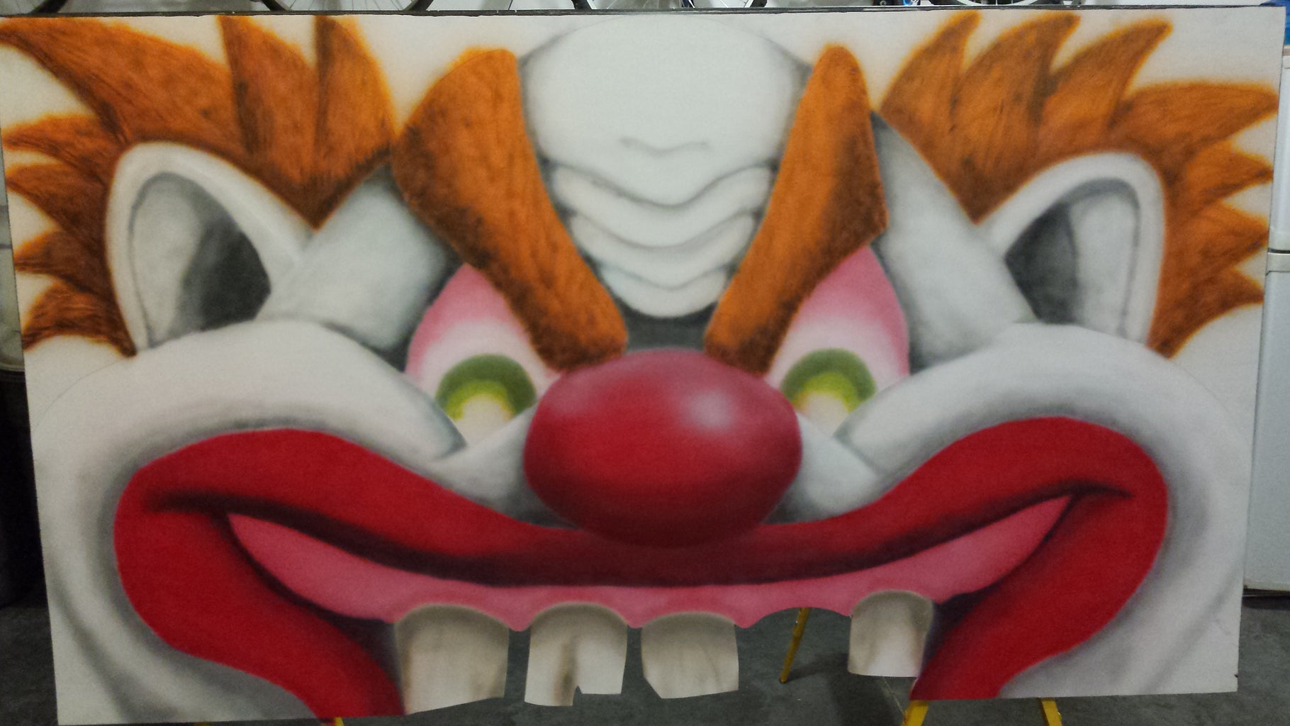 Step 5: Painting the Clown