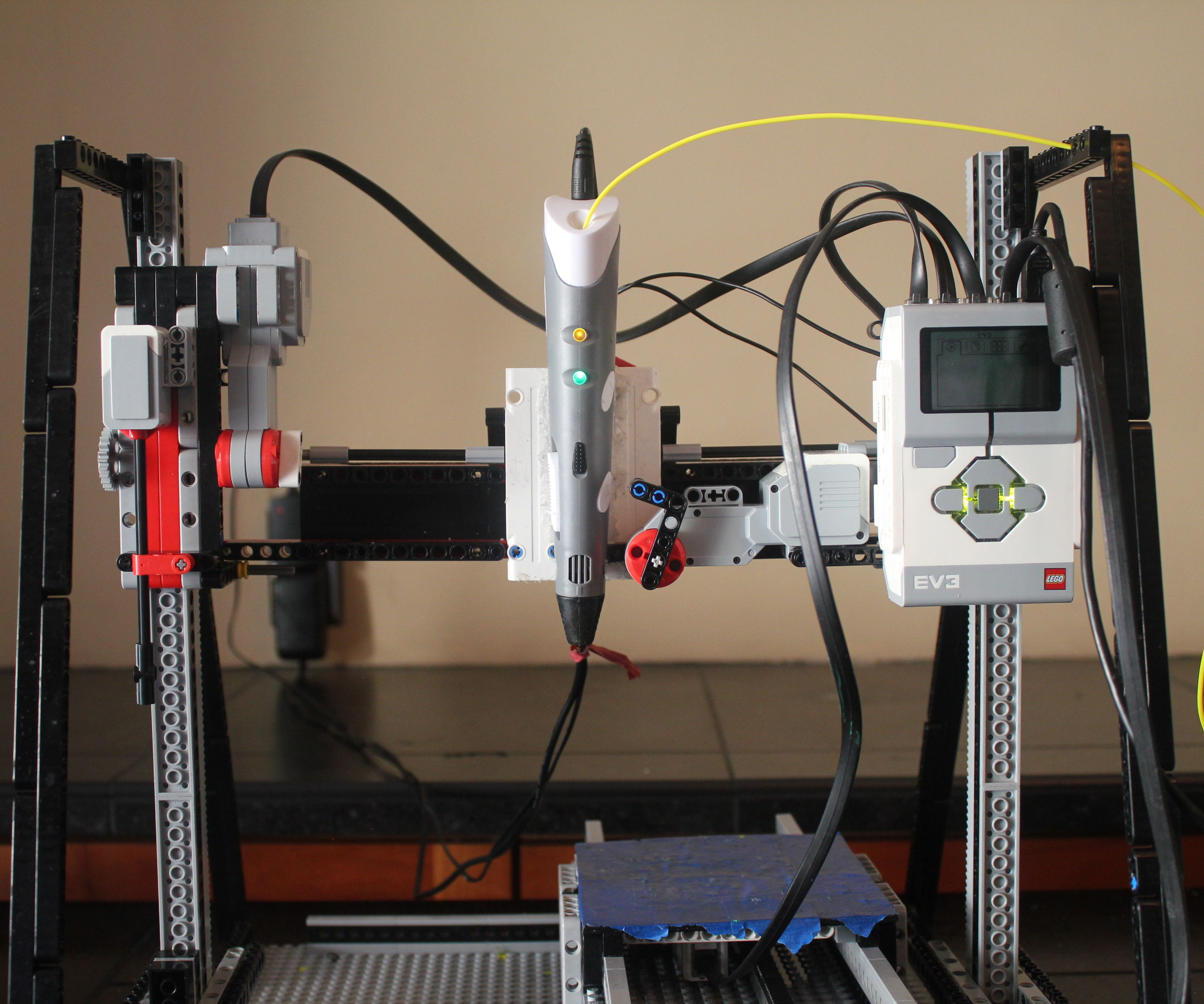 LEGO Mindstorms 3D Printer