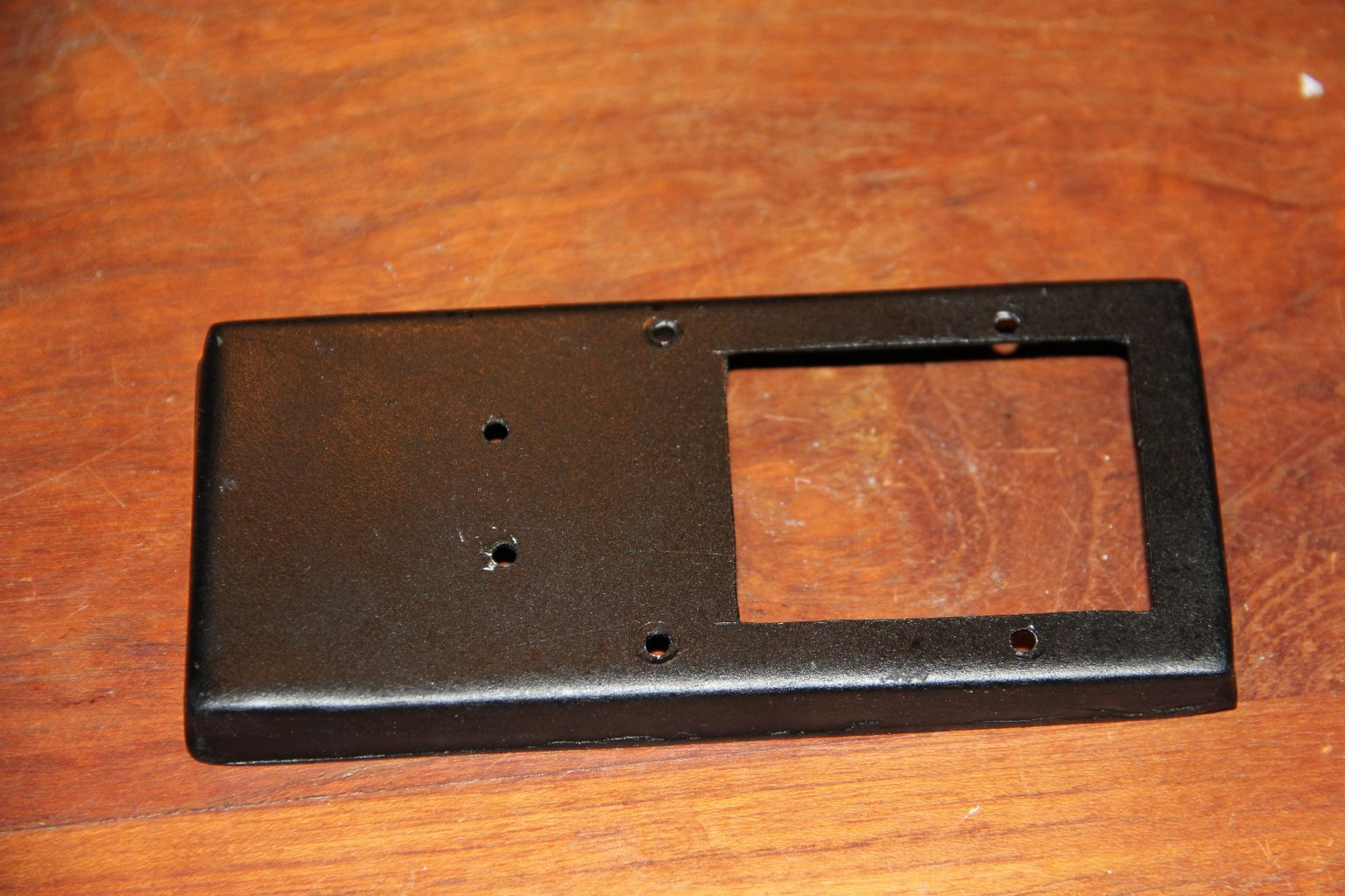 Preparing the Vacuum Formed Battery Tray (Optional)