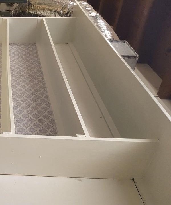 Shelf/ Pantry $10 Makeover