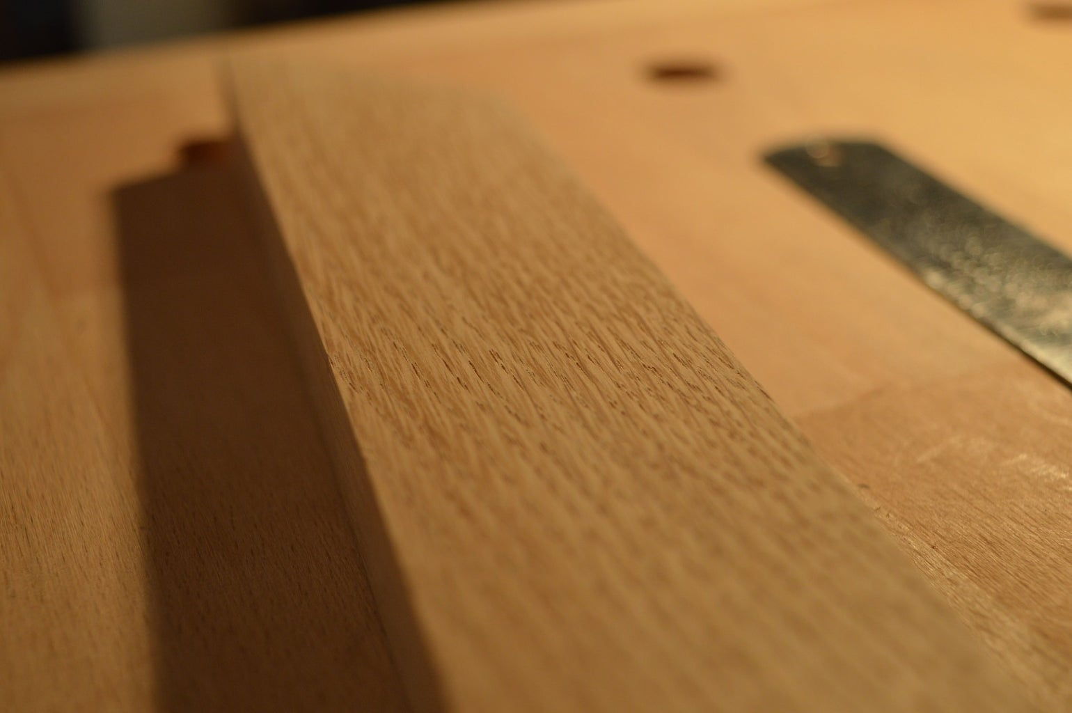Tapering Edges and Finishing Front Face of Wood