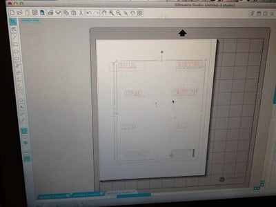 Prepare Your Nametags in the Silhouette Studio Software