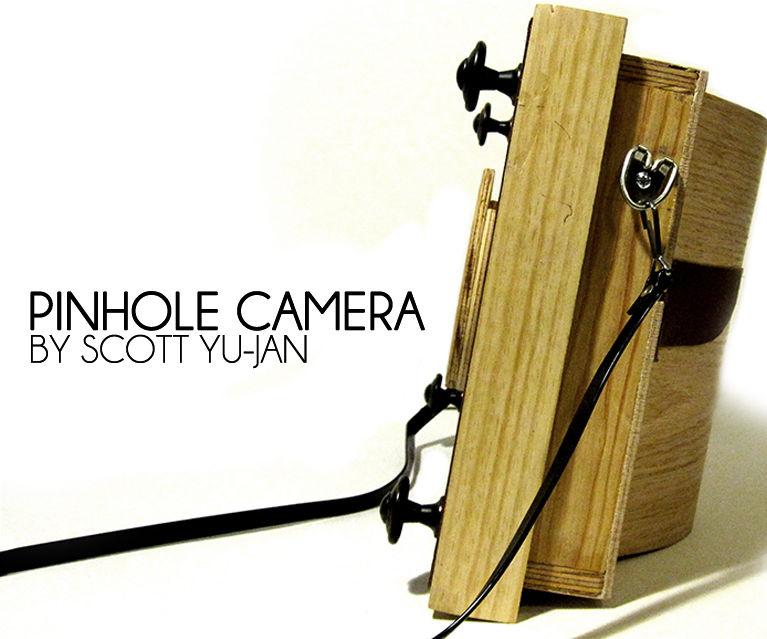 Wooden Pinhole Camera by Scott Yu-Jan