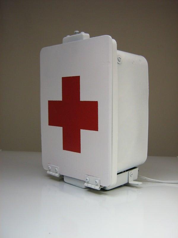 "WC White Box of DOOOOOM! (Bonus: ""Bazzinga"" Drop-sign)"