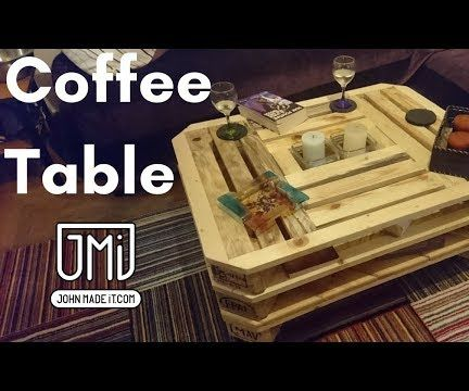 Not the Normal Pallet Wood Coffee Table