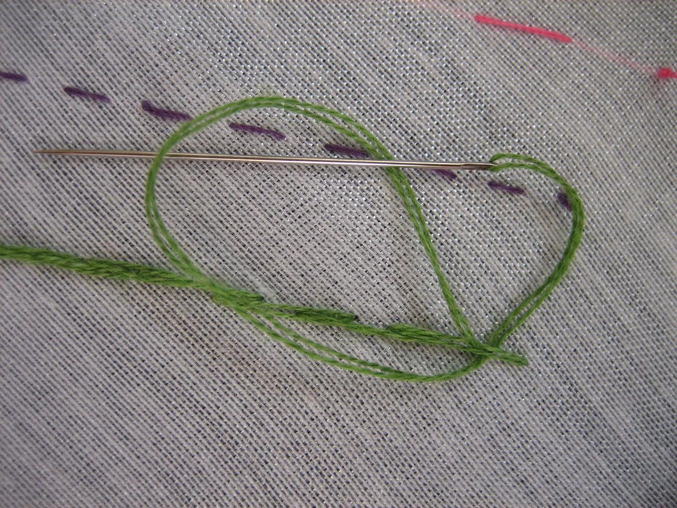 Finishing With a Knot!