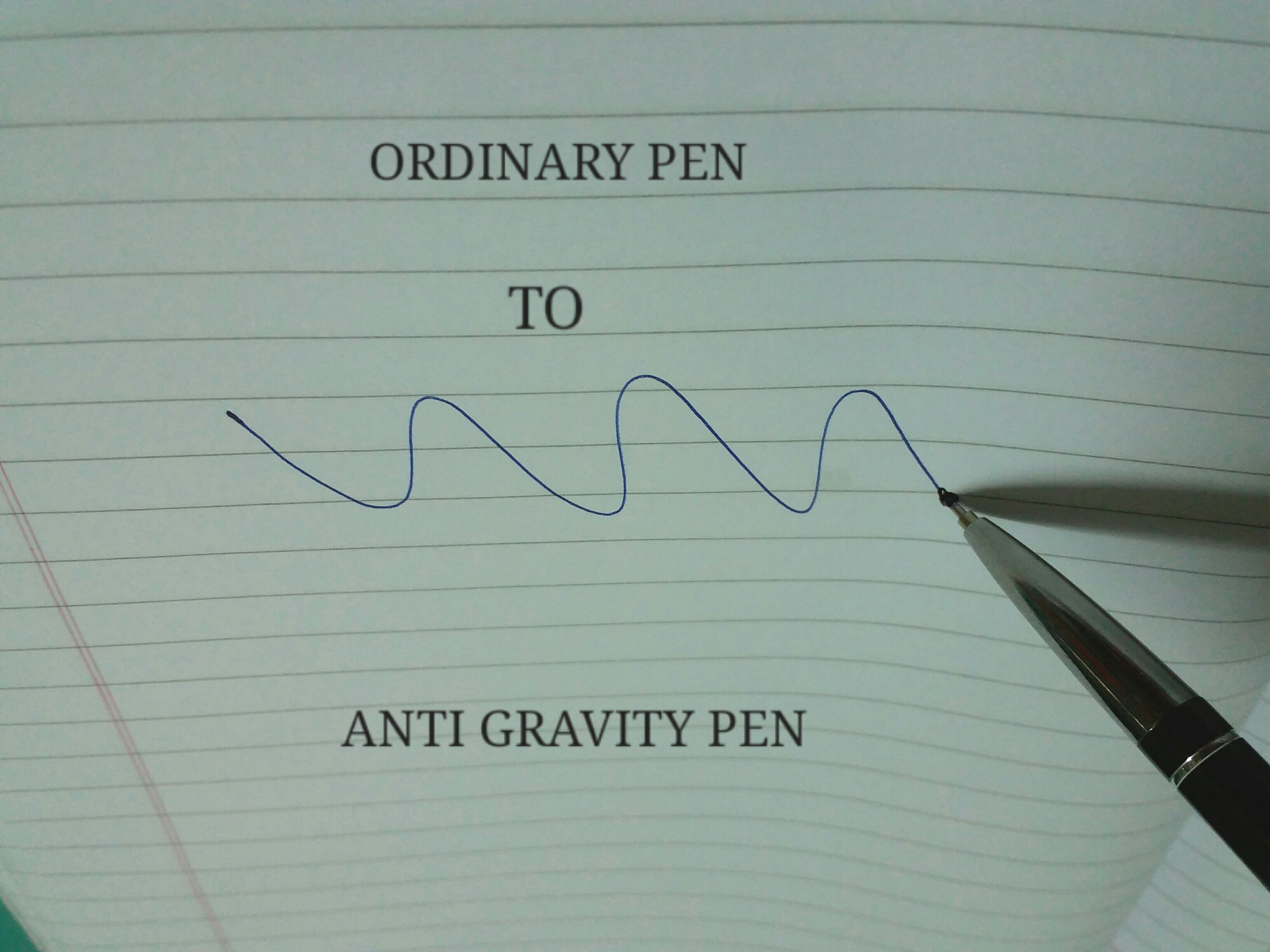 Anti Gravity Space Pen