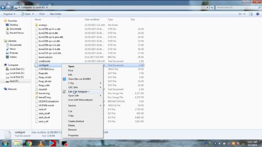 Edit Files.