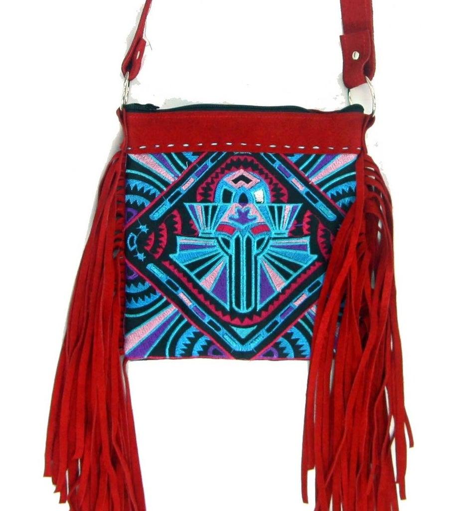 Christmas Gift Ideas - DIY Custom Made Boho Handbag (No Sewing)