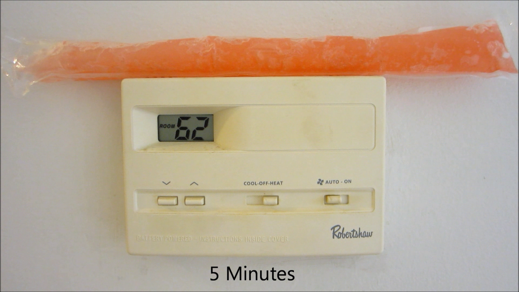 Use Ice to Trick the Thermostat