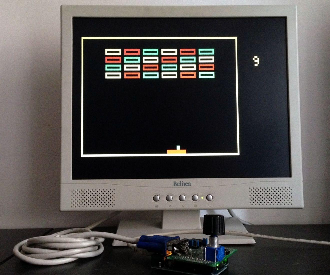 VGA Breakout With Arduino Uno