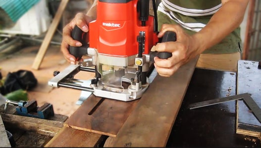 Step 2: Milling of the Slots to Radiator