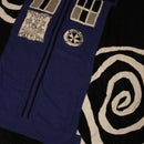 Toasty TARDIS blanket