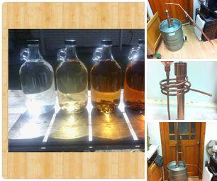 Distilling, Wine, Brandy