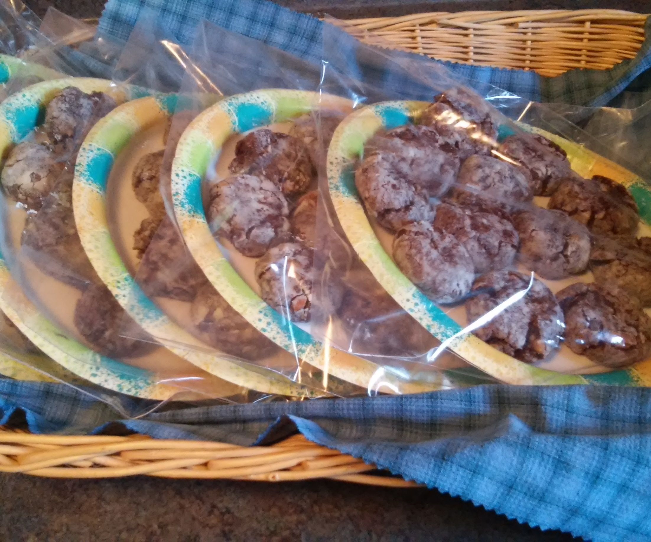 Double Chocolate-Pecan Cookies