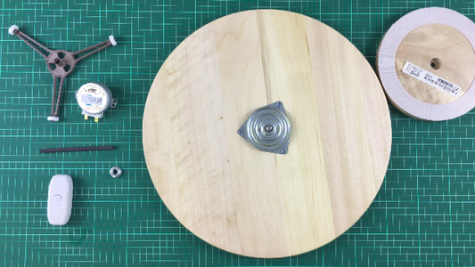 Disassemble the Lazy Susan