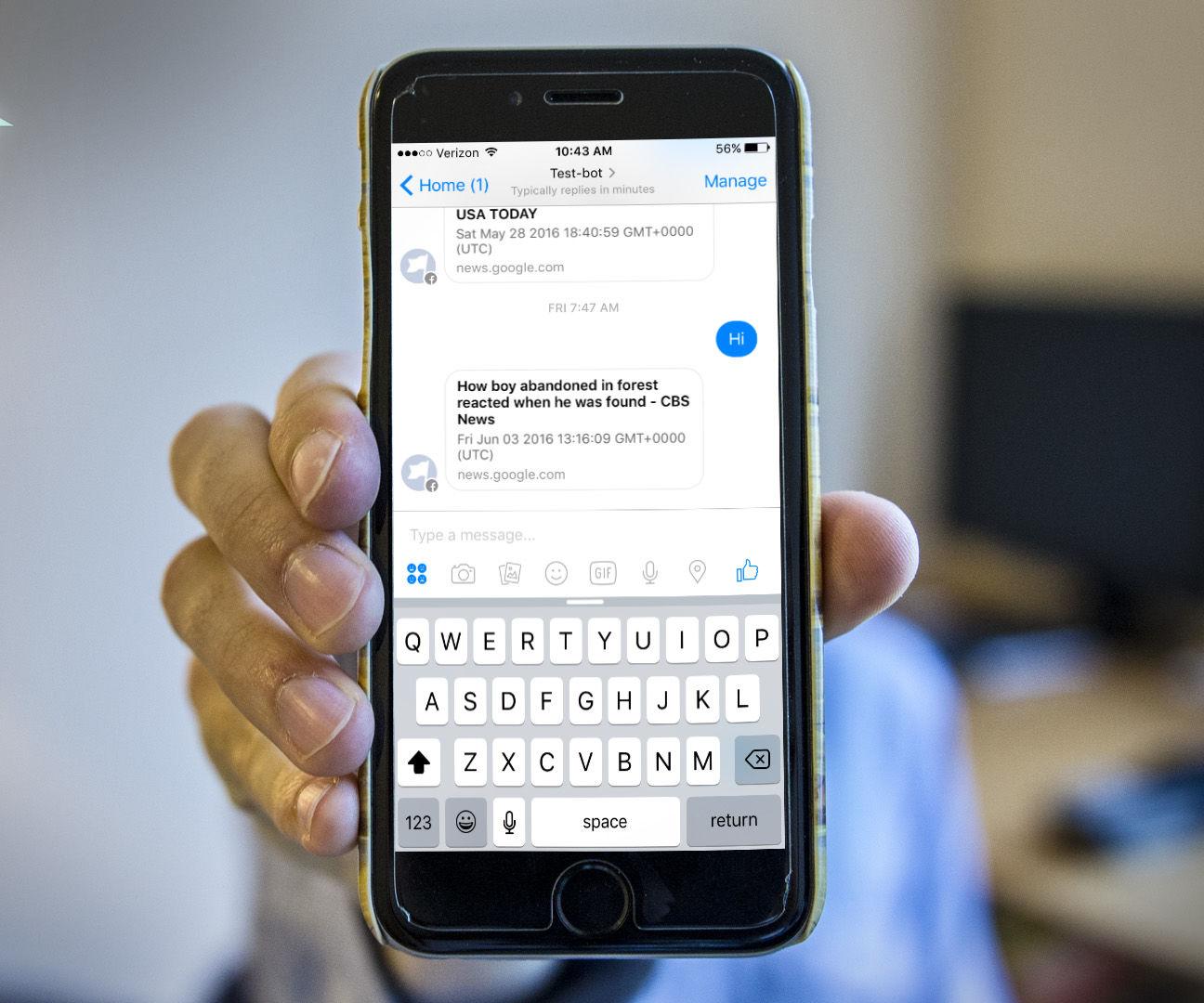 Raspberry Pi Powered Facebook Chatbot