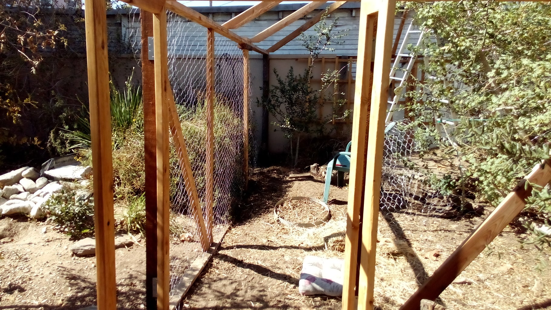 Cover the Sides in Chicken Wire