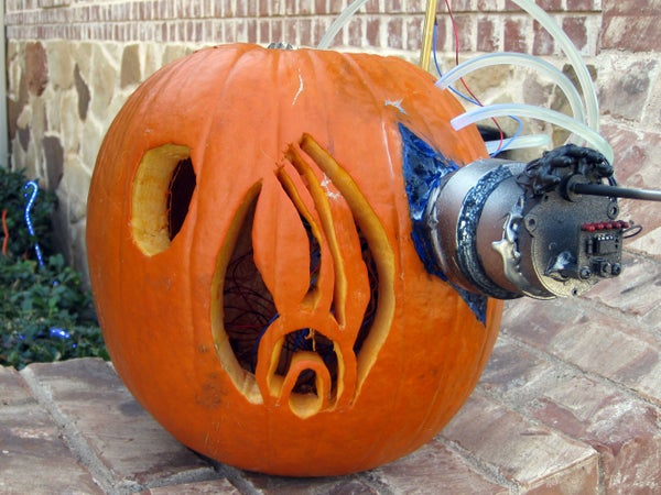 Build the Borg Jack O' Lantern